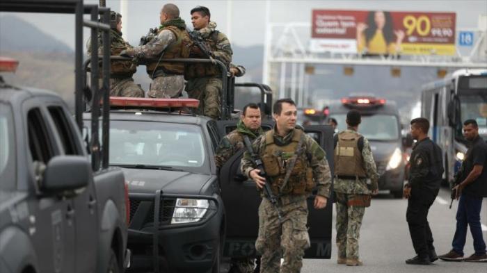 Policía de Brasil mata a secuestrador de autobús con 37 pasajeros