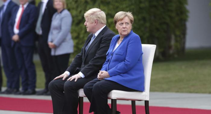 Merkel und Johnson knüpfen Rückkehr Russlands zu G8 an konkrete Bedingungen