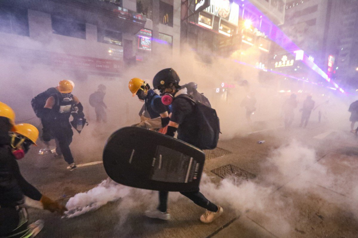 Inside the Hong Kong Protests-  OPINION