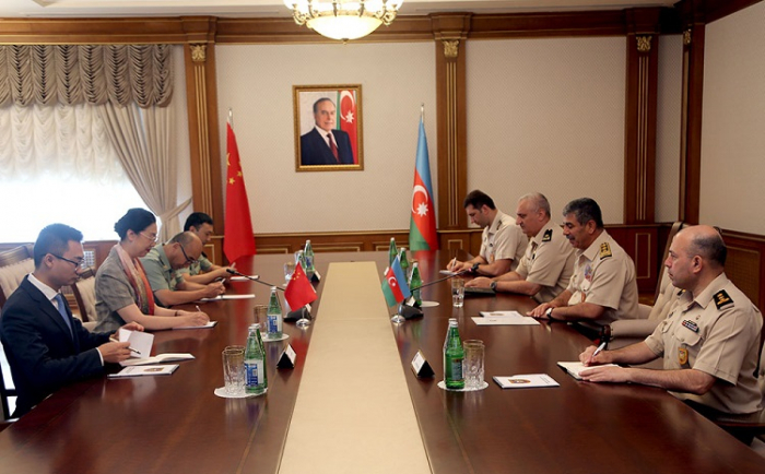 Azerbaijan discusses military-technical cooperation with China