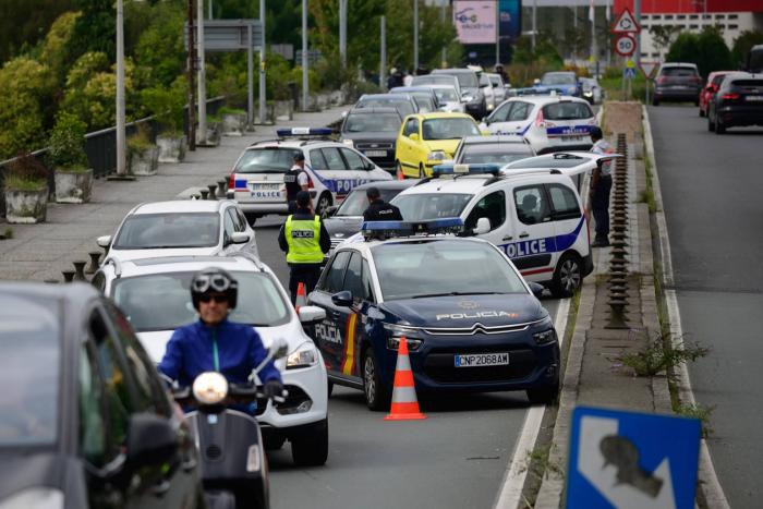 Francia y España blindan el centro de operaciones del G7