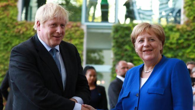 Johnson erwartet kühler Empfang in Paris