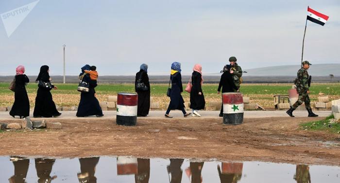 Autoridades sirias abren un corredor humanitario para los civiles que buscan huir de Idlib