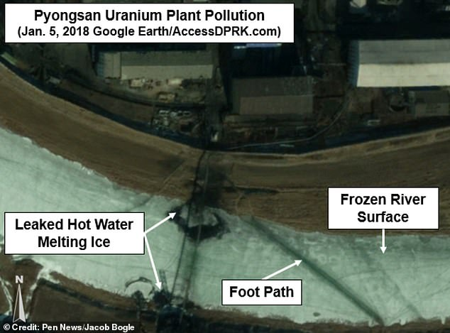 North Korean uranium plant