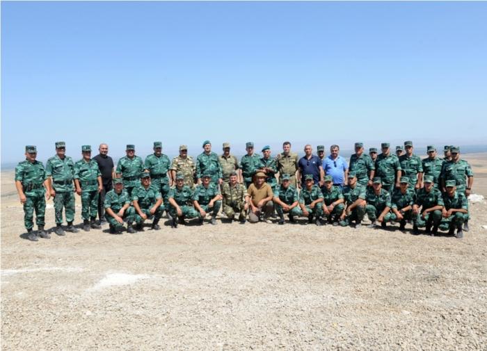 Veteranlar sərhəd diviziyasında