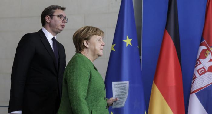 EU-Machtkampf: Zwischen Merkel und Macron kracht es wegen Westbalkan