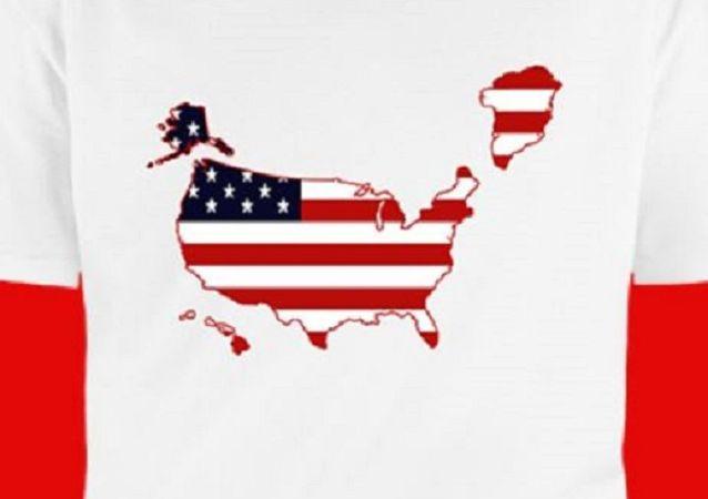 Grönland als Teil der USA? T-Shirts zum Kauf angeboten –   Foto