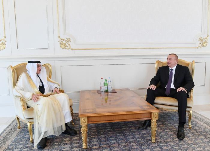 Le président Ilham Aliyev s'est entretenu avec le secrétaire général de l'OCI