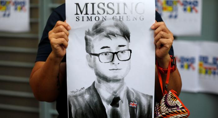 China libera al empleado del Consulado británico en Hong Kong