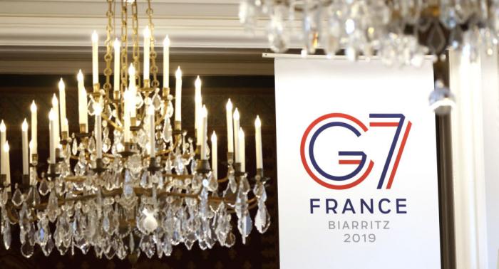 Protestas contra el G7 durante el primer día de la cumbre en Francia