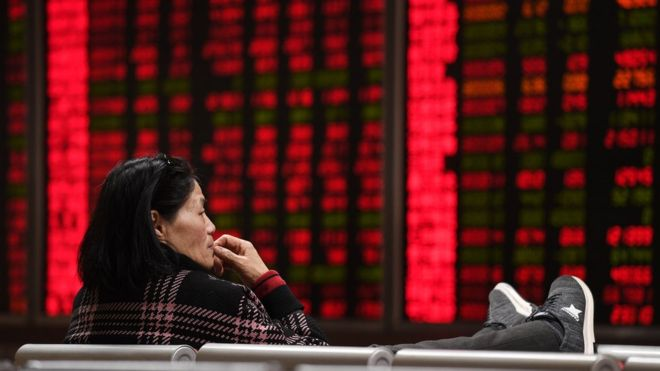 Asian stocks drop as US-China trade war escalates