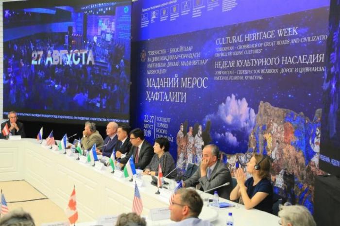 La delegación de Azerbaiyán participa en los actos celebrados en el marco de la Semana del Patrimonio Cultural en Uzbekistán