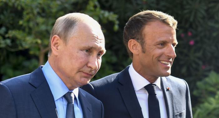 Cumbre entre Macron y Putin días antes del G7 definen la ruta del esperado G8 en Miami