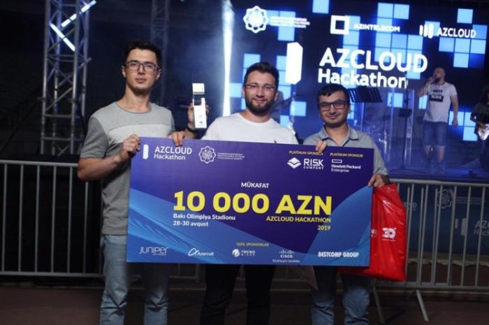 """AZCLOUD Hackathon 2019"" başa çatdı"