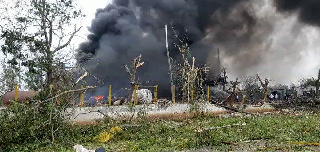 Al menos ocho muertos y docenas de heridos en una explosión en una fábrica química en India