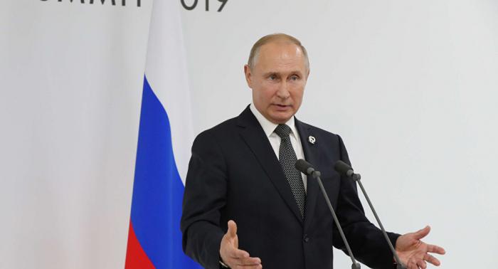 بوتين: روسيا تضمن أمنها بعد انسحاب واشنطن من معاهدة الصواريخ