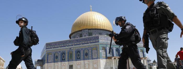 Jérusalem:   des dizaines de blessés après des affrontements