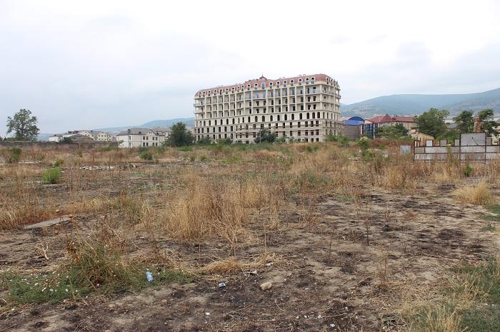 Dərbənddəki Nizami parkı baxımsız vəziyyətdədir - FOTOLAR