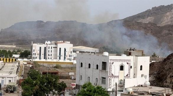 التحالف يعلن استهداف منطقة تشكل تهديداً للحكومة اليمنية في عدن
