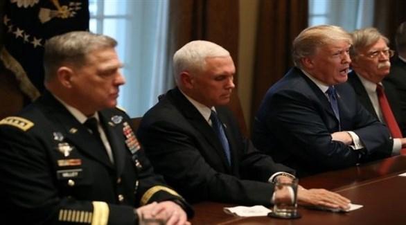 ترامب يجتمع مع مستشاريه لبحث خطة السلام في أفغانستان