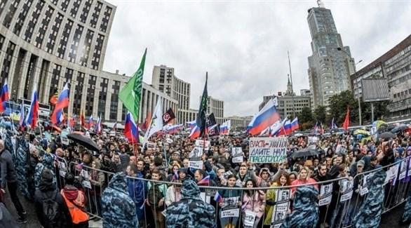 تظاهرات جديدة للمعارضة في موسكو
