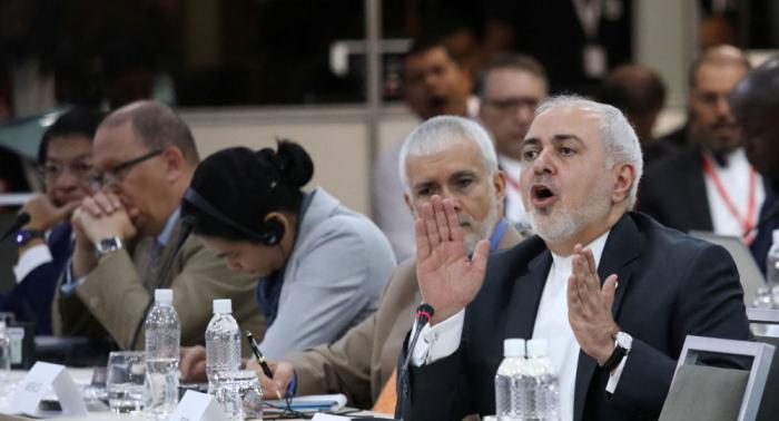 """ظريف يتهم أمريكا بتحويل منطقة الخليج إلى """"علبة كبريت قابلة للاشتعال"""""""