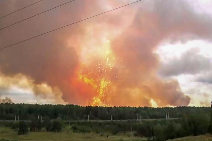 Explosion en Russie: la radioactivité a dépassé jusqu