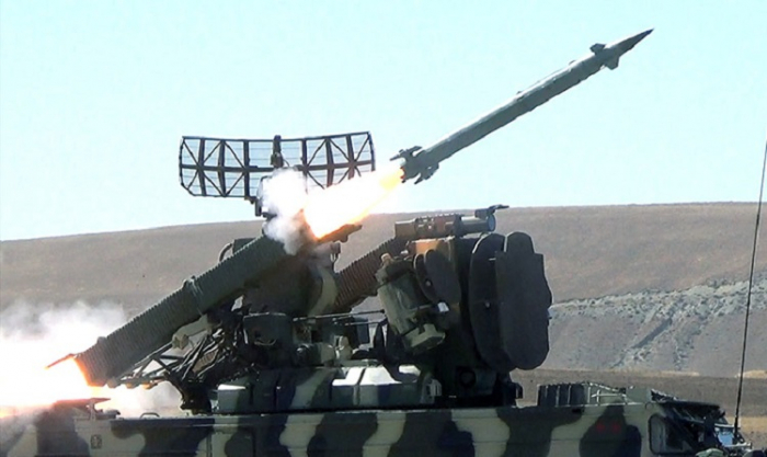 Azerbaijani Air defense means conduct live-fire exercises -   VIDEO