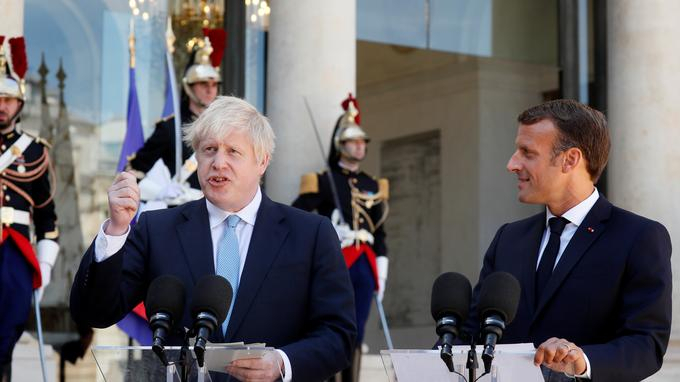 Emmanuel Macron à Boris Johnson : «L