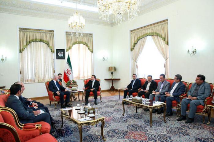 Azərbaycan nümayəndə heyəti İrana səfər edib