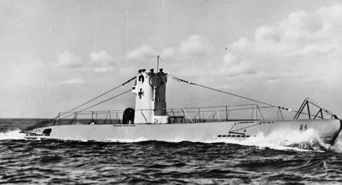 الولايات المتحدة تنشر صورا لغواصة ألمانية عند سواحلها