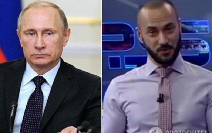 Putini təhqir edən aparıcı işdən qovuldu