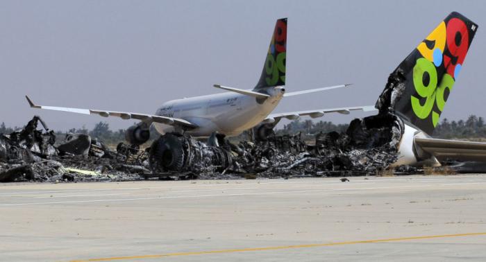 تعليق الملاحة الجوية في مطار معيتيقة الدولي بالعاصمة الليبية طرابلس