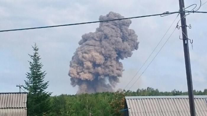 Rusiyada hərbi bazada partlayış: Xəsarət alanlar var