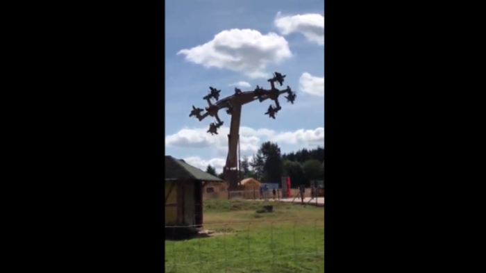 """""""Adlerflug"""" in Baden-Württemberg: Hakenkreuz-Karussell in Freizeitpark sorgt für Empörung"""
