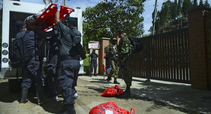 بالفيديو...عرض جوي في كولومبيا ينتهي بمأساة