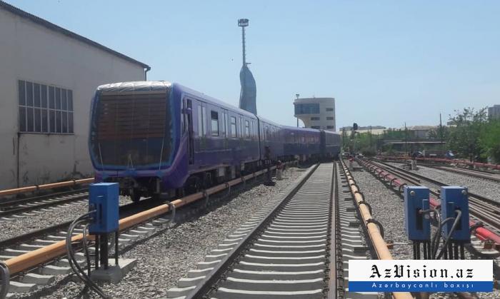 Bakıya daha iki yeni metro qatarı gətiriləcək