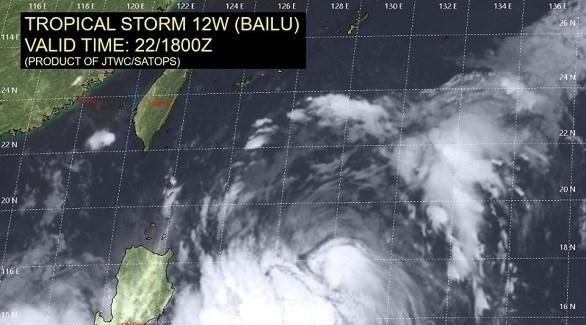 """تايوان تصدر تحذيراً للمناطق الجنوبية الشرقية مع اقتراب الإعصار """"بايلو"""""""