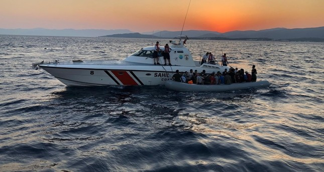 Turkish coastguard stops 330 migrants from reaching Europe illegally