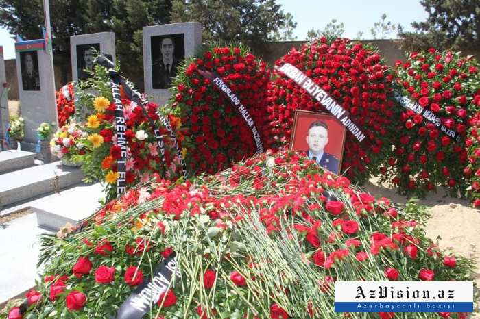 Farewell ceremony held for pilot of Azerbaijani crashed MiG-29 aircraft