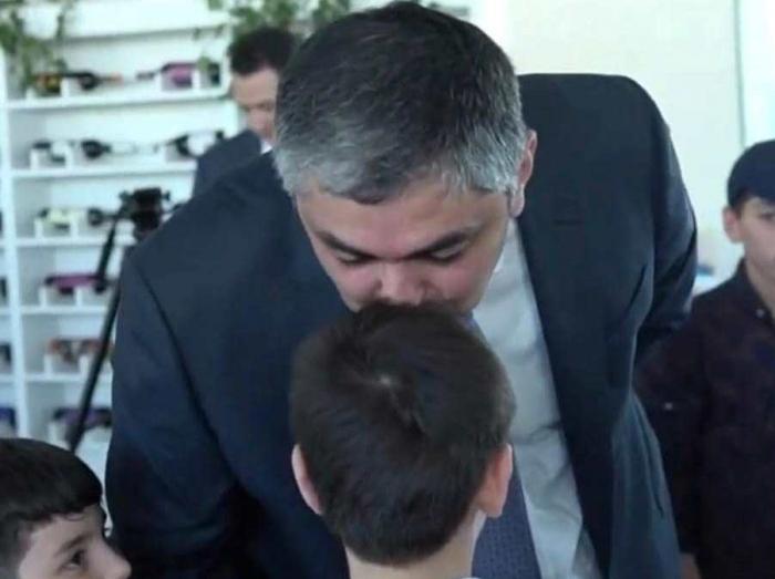 Nazir şəhid oğluna verdiyi sözü tutdu - FOTO