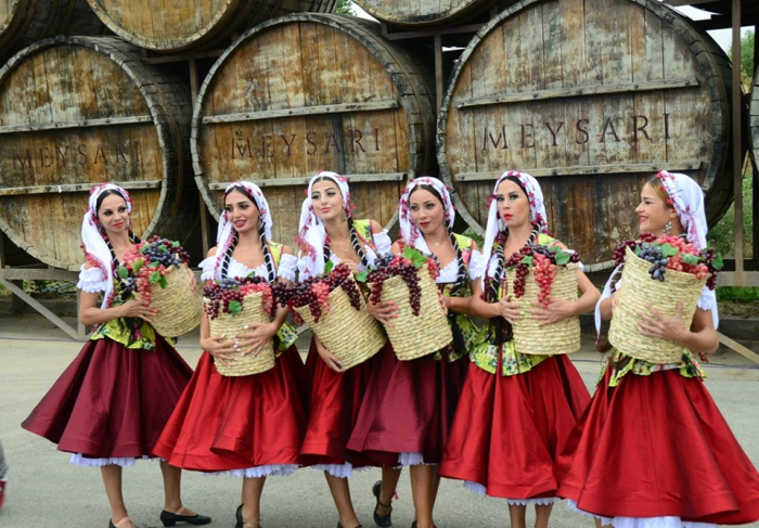 First Grape and Wine Festival opens in Azerbaijan's Shamakhi district - PHOTOS
