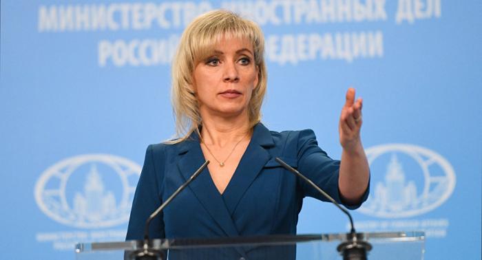 """زاخاروفا تعقب على عرض الرئيس الأوكراني بشأن """"مقايضة القرم"""" بـ """"الثمانية الكبار"""""""