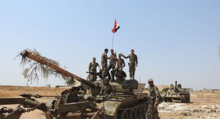 الجيش السوري يسيطر على كفرزيتا ولطمين في ريف حماة الشمالي