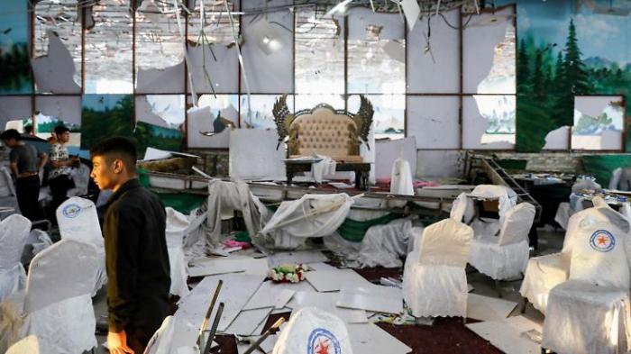 63 Tote bei Anschlag auf Hochzeit in Kabul