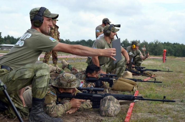 "Fourth stage of ""Sniper Frontier"" contest held"