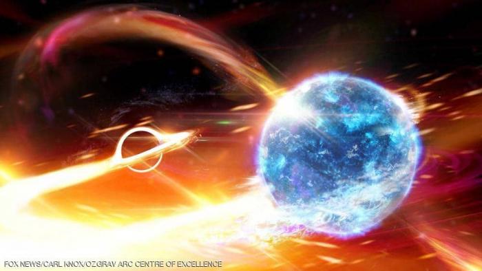 """""""حدث كارثي"""".. رصد ثقب أسود يلتهم نجما نيوترونيا"""