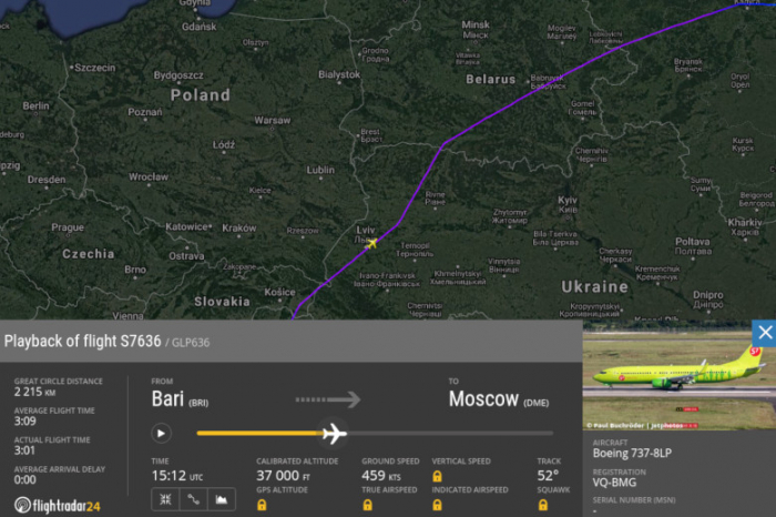 Ukraine allows Russian aircraft into airspace for first time in four years