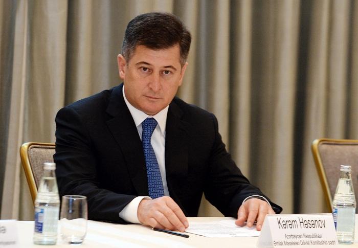 Prezident Kərəm Həsənovu təltif edib - Sərəncam