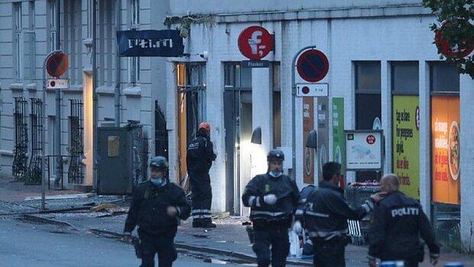 Une deuxième explosion mystérieuse à Copenhague en quatre jours